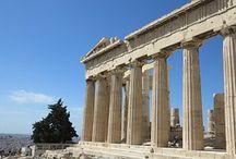 #ACROPOLIS DE ATENAS / Ciudad en Alto. El Partenón, el Erecteión, los Propileos, el templo de Atenea Niké. Grecia antigua.