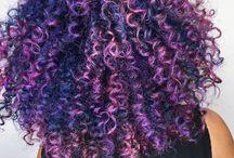 Cachos Coloridos ♡ / crespas e cacheadas coloridas