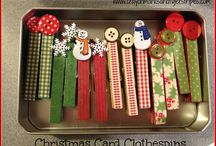 Christmas pegs and other
