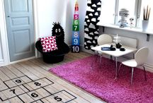 Playroom Perfection / Inspiration for cool kid zones