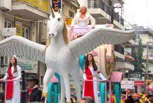 Greece Xanthi / Carnaval of City of Xanthi Greece.