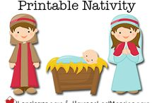 Nativity Play / Christmas play poster
