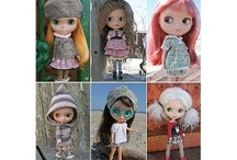 Clothes Patterns for Blythe, Barbie, Pullip... / by Taqué Taqué Inspirandiyme