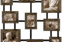 Crafty picture frame ideas.  / by Donya Hart-Talley