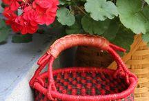 Bolga Mini Baskets