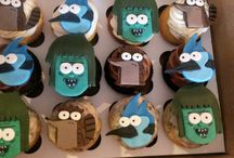 Regular show cupcakes