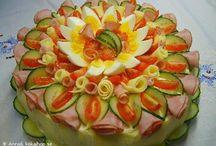 dekoracja talerza