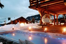 Skiing In Luxury