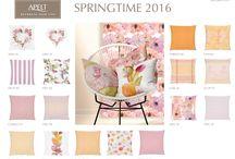 cussions spring - summer  2016 / Hier sind unsere Trendfarben für den Frühling und Sommer 2016.