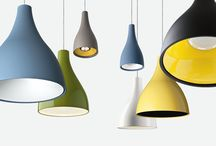 WILLY   Exenia Lighting / Willy led   PENDANT-CEILING LAMPS   Exenia Lighting. Suspension luminaire with LED light source.  Willy edison 27   PENDANT-CEILING LAMPS   Exenia Lighting. Suspension luminaire with E27 lampholder. Body and canopy in spun aluminum and varnished in brick red, lacquered red, spring green, corn yellow, glossy white, matt black, baby blue, concrete grey varnish or corten finishing. Each product is provided with polycarbonate opal diffuser.