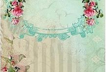 Decorative Background / backgrounds for decoupage