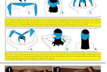 saça şal bağlama