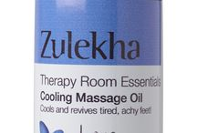 Massage Oils and Balms