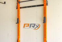 squat racks-pull up station