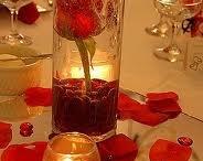 Decorazione Tavolo (rosso)
