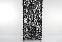 room dividers and freestanding screens by RAZORTOOTHDESIGN / RAZORTOOTHDESIGN specializes in decorative and structural screen partition systems and fully developed solutions for defining and dividing space.  Freestanding screens can be used as a room divider to create privacy in home or office.