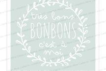 """Mes Stickers ronds """"Jolis mots"""""""