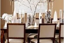 Table / MantelDecorating / by Kristie Gabel