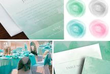 Watercolor Romance / Trend Alert! Watercolor is everywhere from invitations to spring dresses.