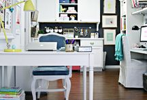 Home workspace inspiration / by Modern Mrs Darcy (Anne Bogel)