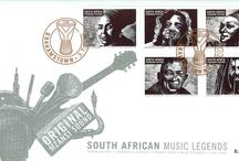South African Music Legends / Stamps with South African Music Legends