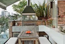 Terrace, kiosk, patio, garden and House / Exteriores, jardines, BBQ