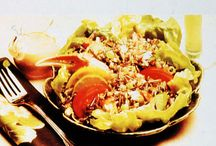 "Wild Rice Salads / Salad recipes submitted to the Minnesota Cultivated Wild Rice Council's annual ""Get Wild with Wild Rice"" contest"