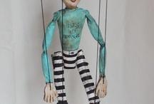 Marionette / bambole / pupazzi