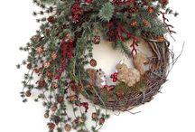 Wieńce świąteczne