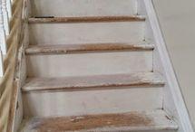 como reparar escaleras