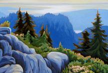 Tatjana's Art / Landscape paintings by Tatjana Mirkov-Popovicki