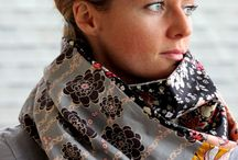Scarfs cowls echarpes / The prettiest scarfs, cowls, echarpes that I find around the web.