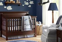 Boys Nursery Ideas- Navy