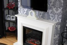 Fire place refurbishment / A simple project refurbishing a feature chimney breast.