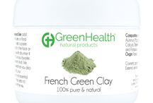 Natural Clay Powders / For Masks, Wraps, and Scrubs