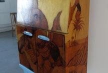Vinella & Krupa -  upcycled furnitures
