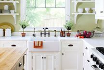 kitchen ideas / by Barbara O'Connor