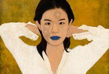 Infinity Girl / Baptiste Tavernier's artworks.
