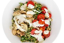 30 Minutes or Less / Quick lunch and dinner ideas to get you through the week.