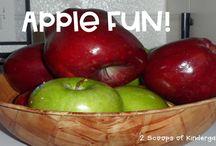 I ❤️ kinder- apples