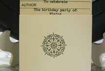 Parties: Library Themed Party / Inspiration for a library themed party