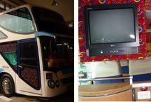 Thajsko Cestovanie autom a autobusom