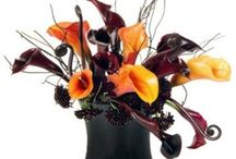 Halloween Flower Arrangements