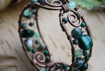 wire wrapping / by Nancy Flecknell