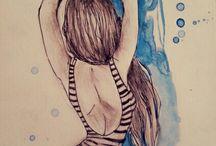 snoopy art / my world. my air. my life (: