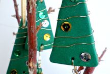 clay ornaments / by Carissa Daggett
