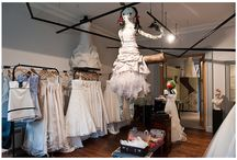 Rachel Scott Couture / A sneak peek inside our store! Photos by Elemental Photography and Michaela Waddell.
