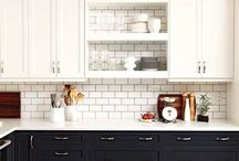 kitchen - metro tiles