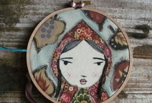 My fabric and textile art
