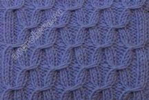 Neulemalleja - Knitting patterns